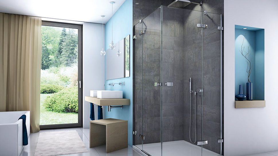 SHOWER ENCLOSURES. WE ARE A PREMIER LEAGUE PLAYER HERE TOO